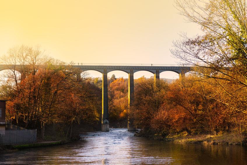 Pontcysyllte Aqueduct Llangollen Canal Wales